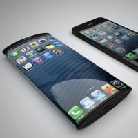 Рендер iPhone с закругленным дисплеем