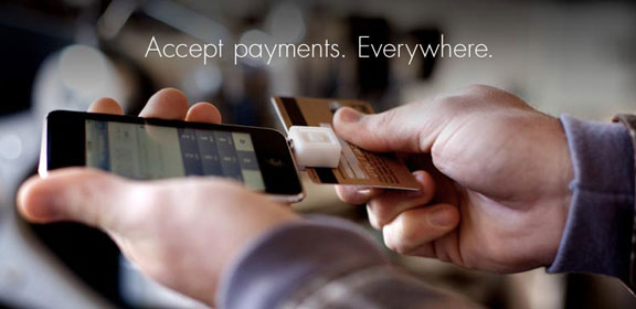 Square - oplata platezhyei na iPhone kreditkoi
