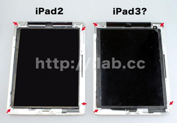 ipad 3 display