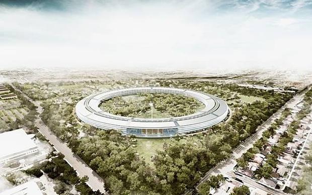 Apple переедет в новую штаб-квартиру в 2016 году
