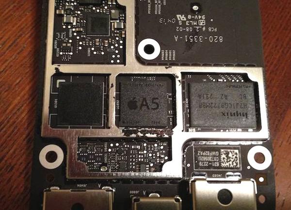 Обновленная Apple TV работает на 28-нм процессоре A5