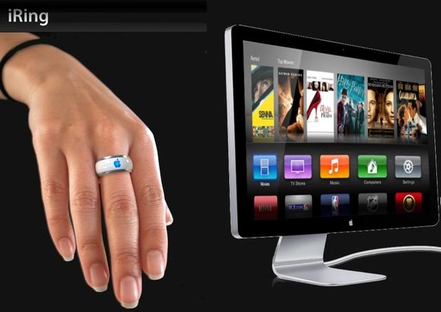 iTV будет выпускаться с контроллером в виде кольца iRing