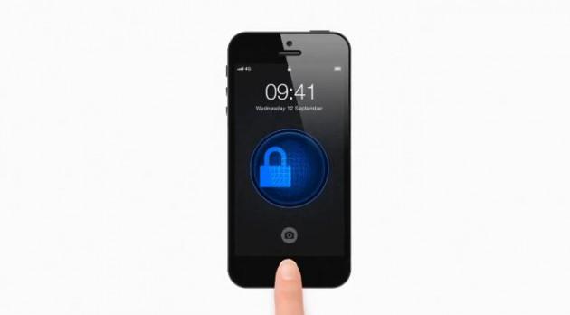Фишкой iPhone 5S станет сканер отпечатков пальцев