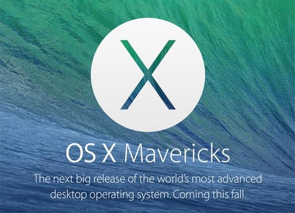 Apple представила OS X Maverick