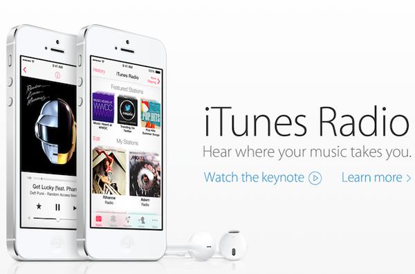Сервис iTunes Radio будет доступен только в США