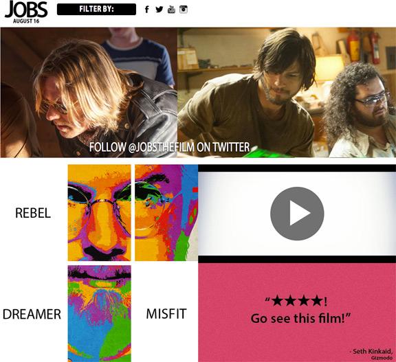 Запущен сайт, посвященный биографическому фильму про Стива Джобса