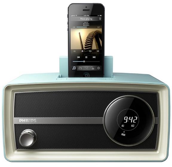 Philips представила мини-радио с поддержкой iPhone и iPad