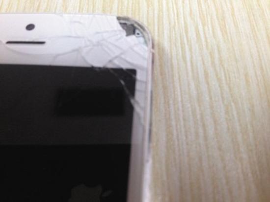 iPhone 5 при взрыве повредил китаянке глаза