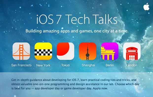 Apple проведет семинары для разработчиков Tech Talks