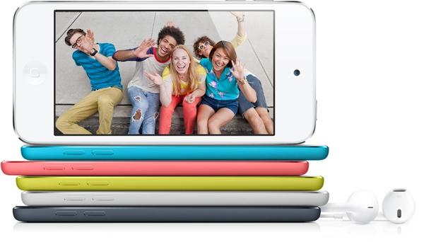 iPod touch 5G – самый популярный плеер в России