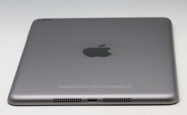 Фото корпуса iPad mini 2 в темно-сером исполнении