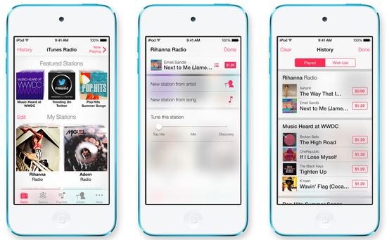 Apple ищет сотрудников для iTunes Radio