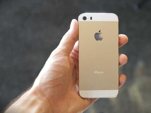 Золотистый iPhone 5s станет дефицитом в России
