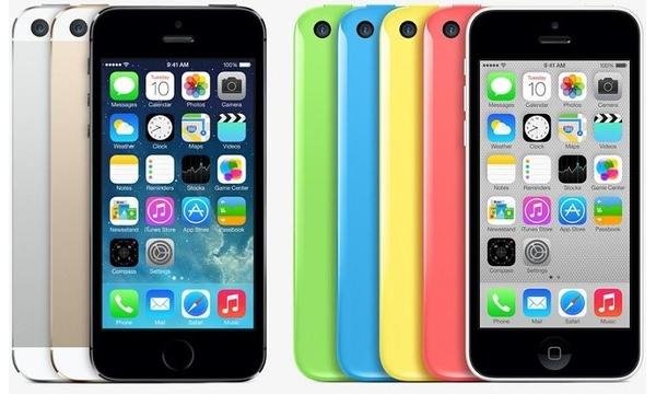 Розничные цены на iPhone 5s и iPhone 5c в России