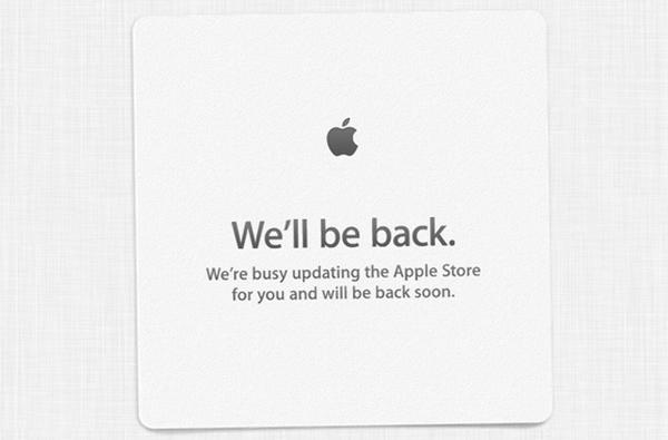 Apple закрыла Apple Store на обновление
