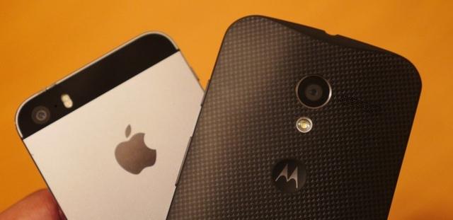Moto X понравился экспертам больше, чем iPhone 5s