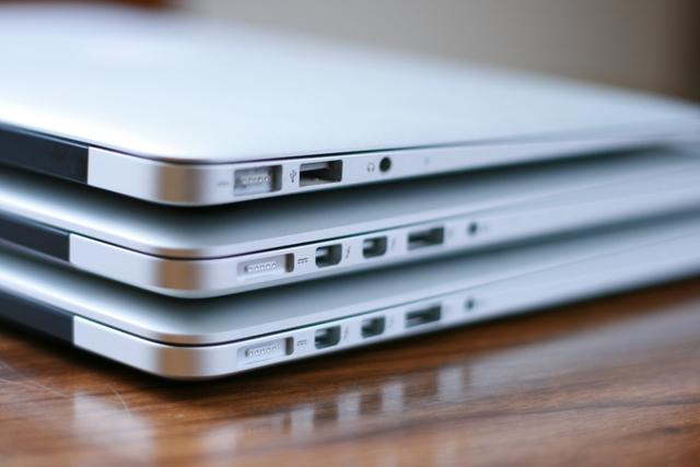 Объемы продаж MacBook Air и MacBook Pro снижаются