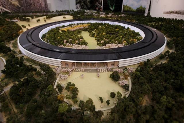 Макет нового кампуса Apple