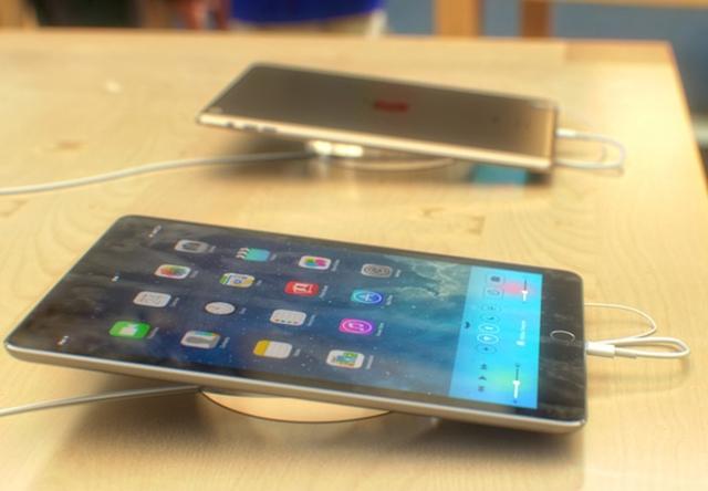 Концепт золотого iPad 5 со сканером отпечатков пальцев
