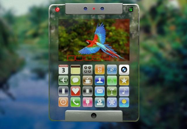 Концепт iPad 6 в прозрачном корпусе