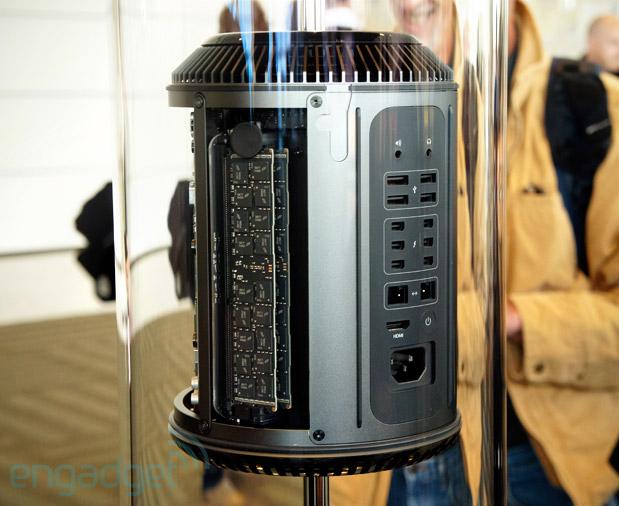 Видеокарту нового Mac Pro можно заменить
