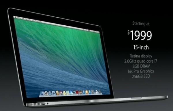 Графика новых MacBook Pro на 65% производительнее