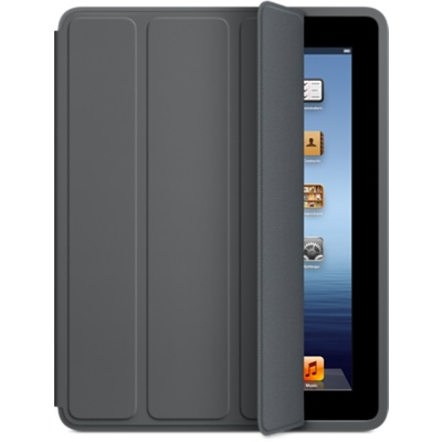 Smart Cover и Smart Case для iPad 2,3,4 доступны только в темно-сером цвете