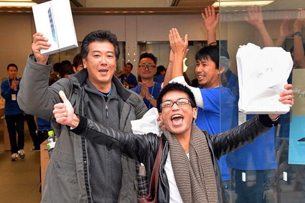 Начались продажи iPad Air