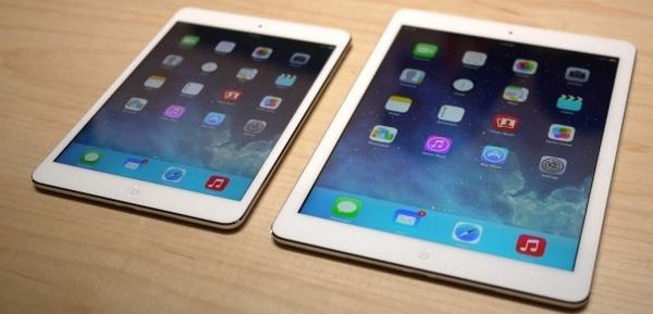 Объявлены цены на iPad Air и iPad mini 2 в России