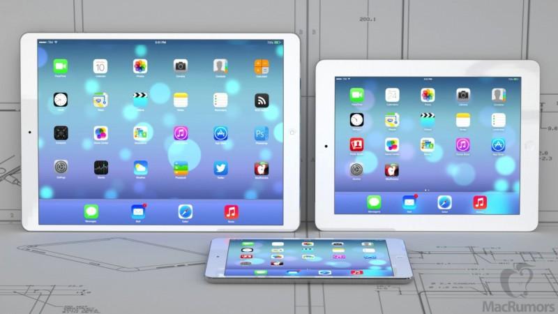 Какой дисплей получит iPad Maxi?