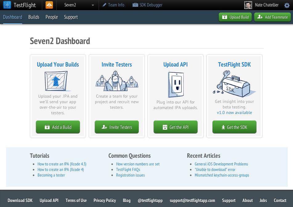 TestFlight-Dashboard