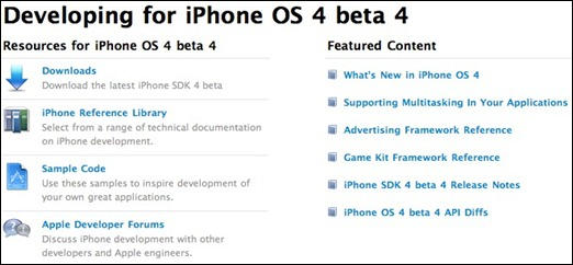 iPhoneOS4Beta4