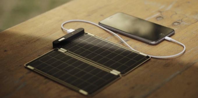 Солнечная зарядка для смартфона своими руками