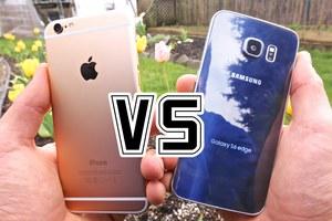 Samsung S6 против iPhone 6