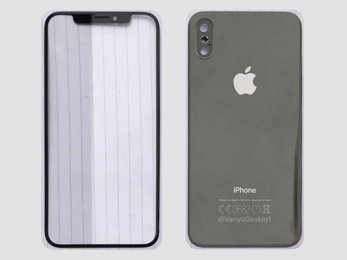 IPhone 8: винтернете появились фото панелей