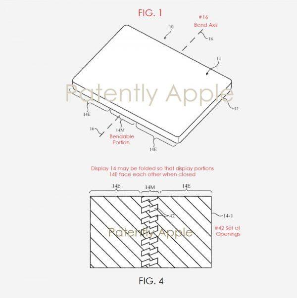 Apple запатентовала гибкий экран