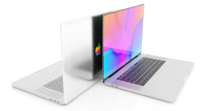 MacBook_rainbow_Apple_logo_concept