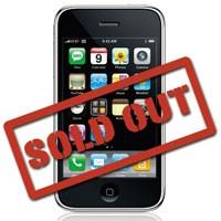iPhone 3G пропали с прилавков магазинов в России