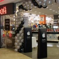 Открытие первого в России магазина AppleShop