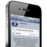 ultrasn0w – Разлочка для iPhonе на iOS 4.2.1