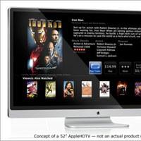 Когда же выйдет Apple HDTV?