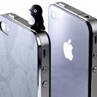 Ультратонкий алюминиевый футляр Bone Shimmer для iPhone 4S