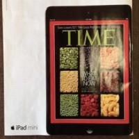 Реклама iPad mini на страницах TIME и New Yorker