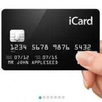 Концепт кредитной карты Apple