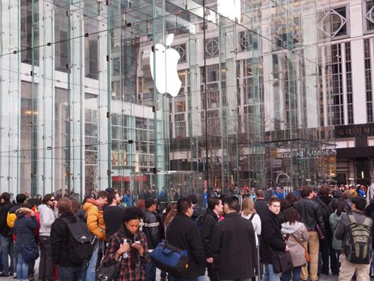 Продажи iPad 2
