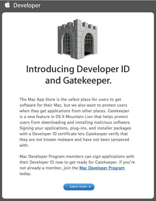 Apple Gatekeeper