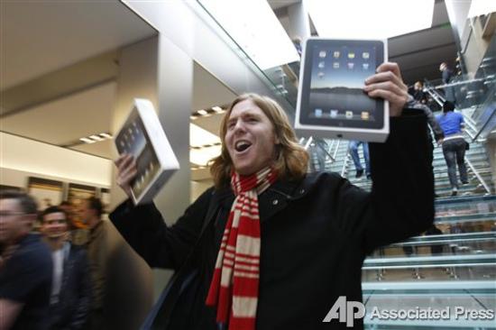 Продажи iPad