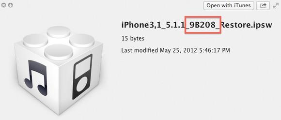 новая версия iOS 5.1.1