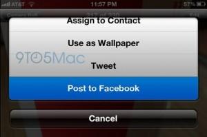 iOS6 Facebook
