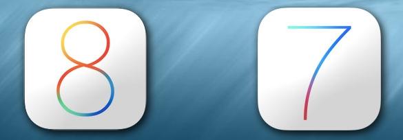 iOS-8-and-ios-7